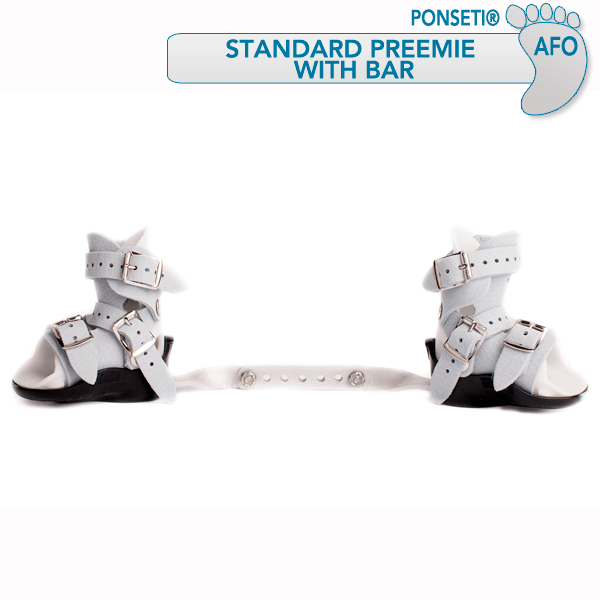 "Ponseti ® Standard ""Preemie"" with bar--Photo credit:MD Orthopaedics ©"